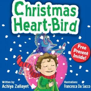 Christmas Heart Bird