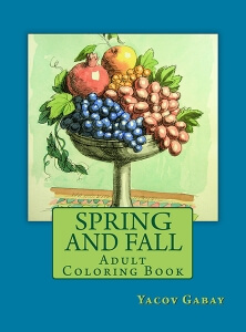 Spring and Fall: Adult Coloring Book